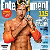 A fit Ryan Reynolds covered Entertainment Weekly's June 2009 issue.