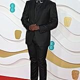 Daniel Kaluuya at the 2020 BAFTAs in London