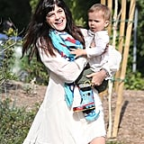 Selma Blair and her son, Arthur, spent a day outdoors in LA together.