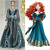 Merida Wearing Guo Pei Couture