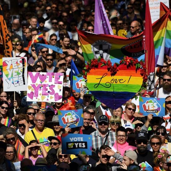 Sydney, Australia, Same-Sex Marriage Rally September 2017