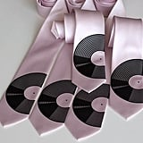 Photos of the Vinyl Record Necktie