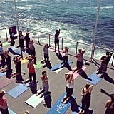 Yes, exercise can be this beautiful! Bondi made for an idyllic setting for Sunday's session.