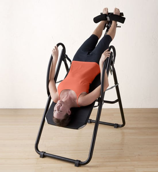 inversion table best fitness gifts popsugar fitness. Black Bedroom Furniture Sets. Home Design Ideas