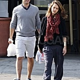 Jessica Alba and Cash Warren at Whole Foods.
