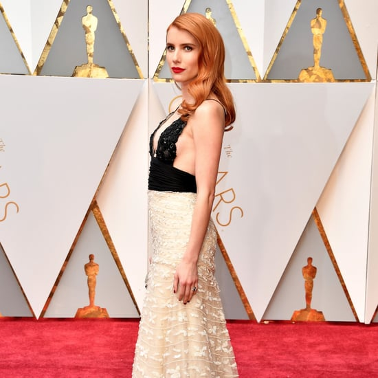 Emma Roberts and Michelle Williams Match at the Oscars 2017
