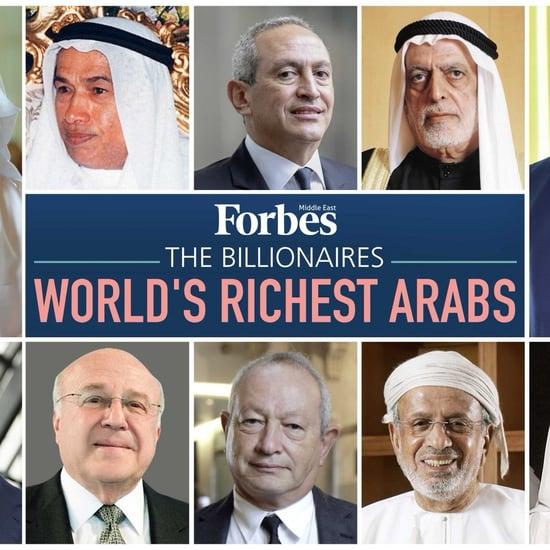 Forbes Richest Arabs 2018
