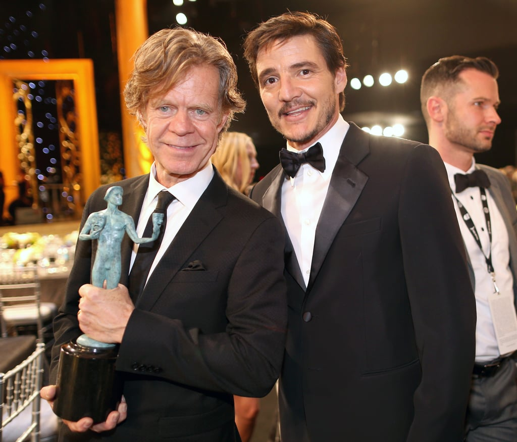 William H. Macy and Pedro Pascal (Oberyn Martell)