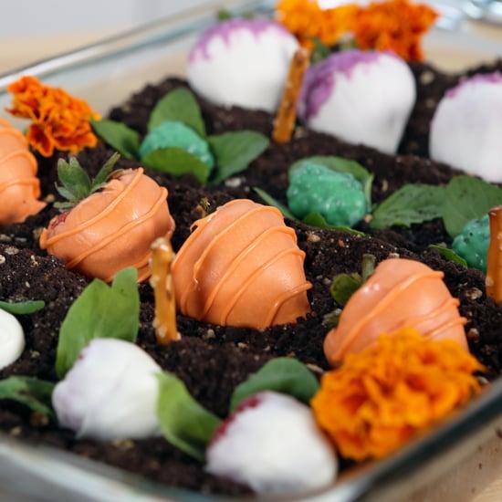 Edible Garden Cake