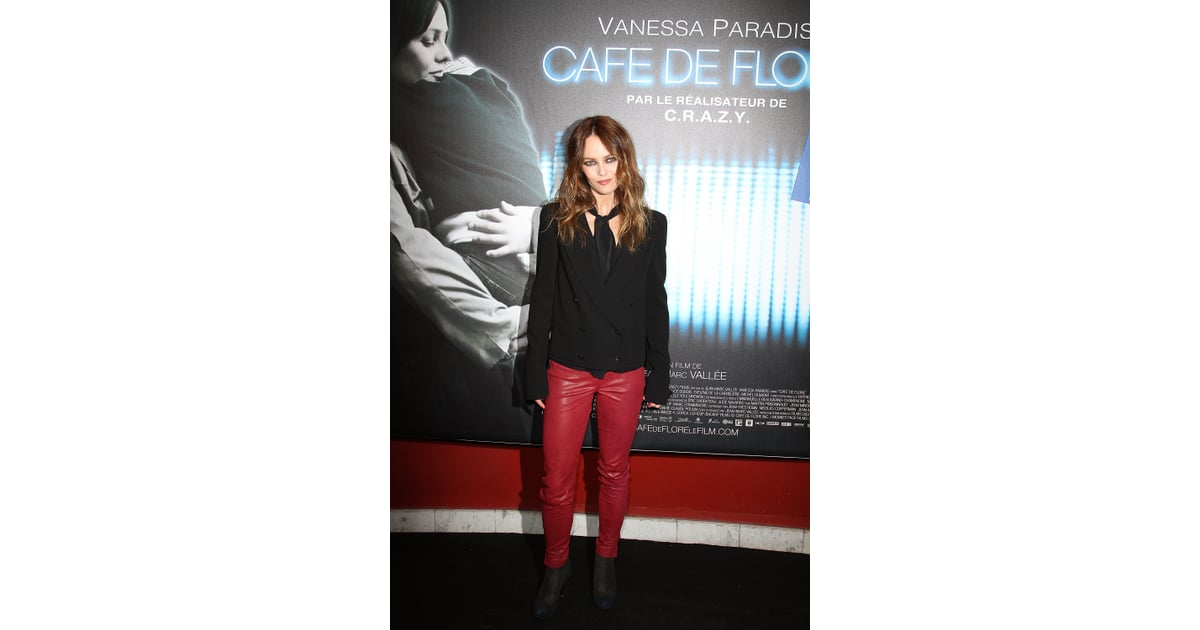 vanessa paradis in tight pants