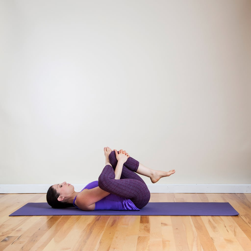 Figure Four | Seated Yoga Sequence | POPSUGAR Fitness Photo 3