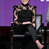 Tatiana Maslany stunned during an Orphan Black panel.