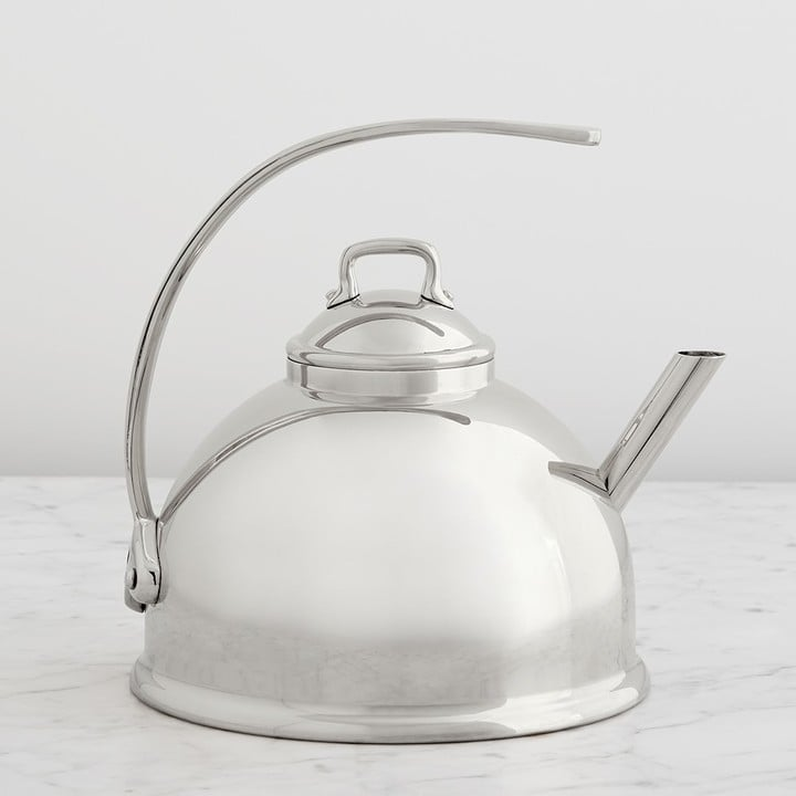 الخيار الذي انتقيته: إبريق شاي من علامة Mauviel