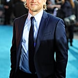 In July 2013, Charlie was in the spotlight for the European premiere of Pacific Rim in London.