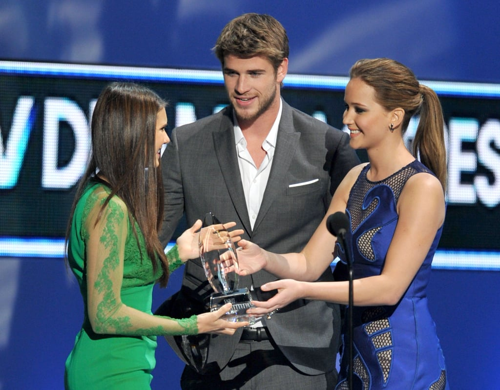 Nina, Liam, and Jennifer