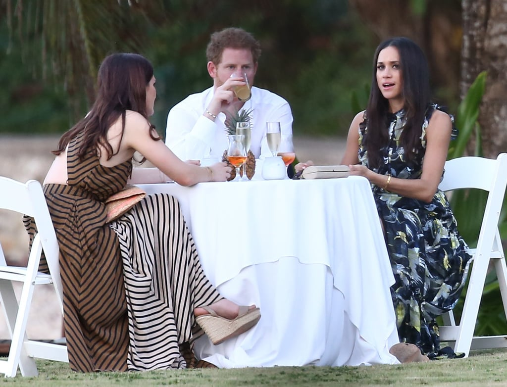 prince harry and meghan markle at wedding in jamaica 2017 popsugar celebrity prince harry and meghan markle at