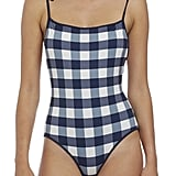 Solid & Striped 'Poppy' Gingham One-Piece Swimsuit ($158)