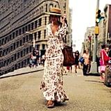 Sunward Floral Maxi Dress