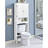 Bathroom: Wakefield No Tools Over the Toilet Space Saver