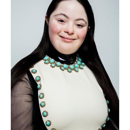 Gucci L'Obscur Mascara Campaign Stars Down's Syndrome Model