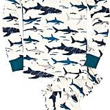 Hatley Youth Boy's Toothy Shark PJ Set