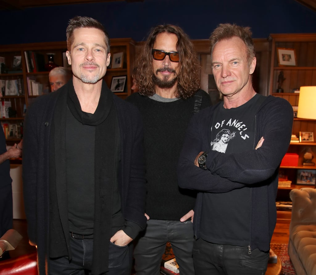 Brad Pitt at ROCK4EB! 2017 Event Pictures