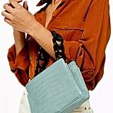 Topshop Tamara Acrylic Chain Grab Bag