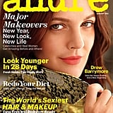 Drew Barrymore in Allure Magazine January 2013