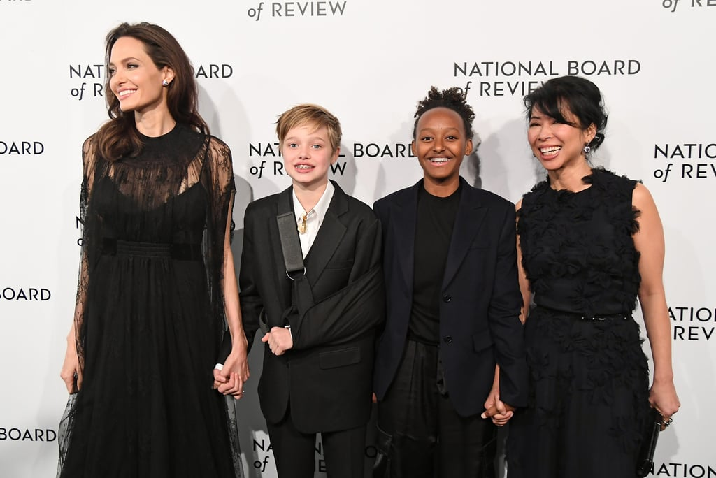 Angelina Jolie and Her Kids Turned This Red Carpet Gala Into a Girls' Night Out