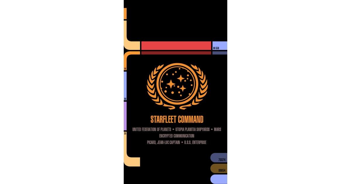 Star Trek LCARS | Geeky iPhone Wallpapers | POPSUGAR Tech Photo 18