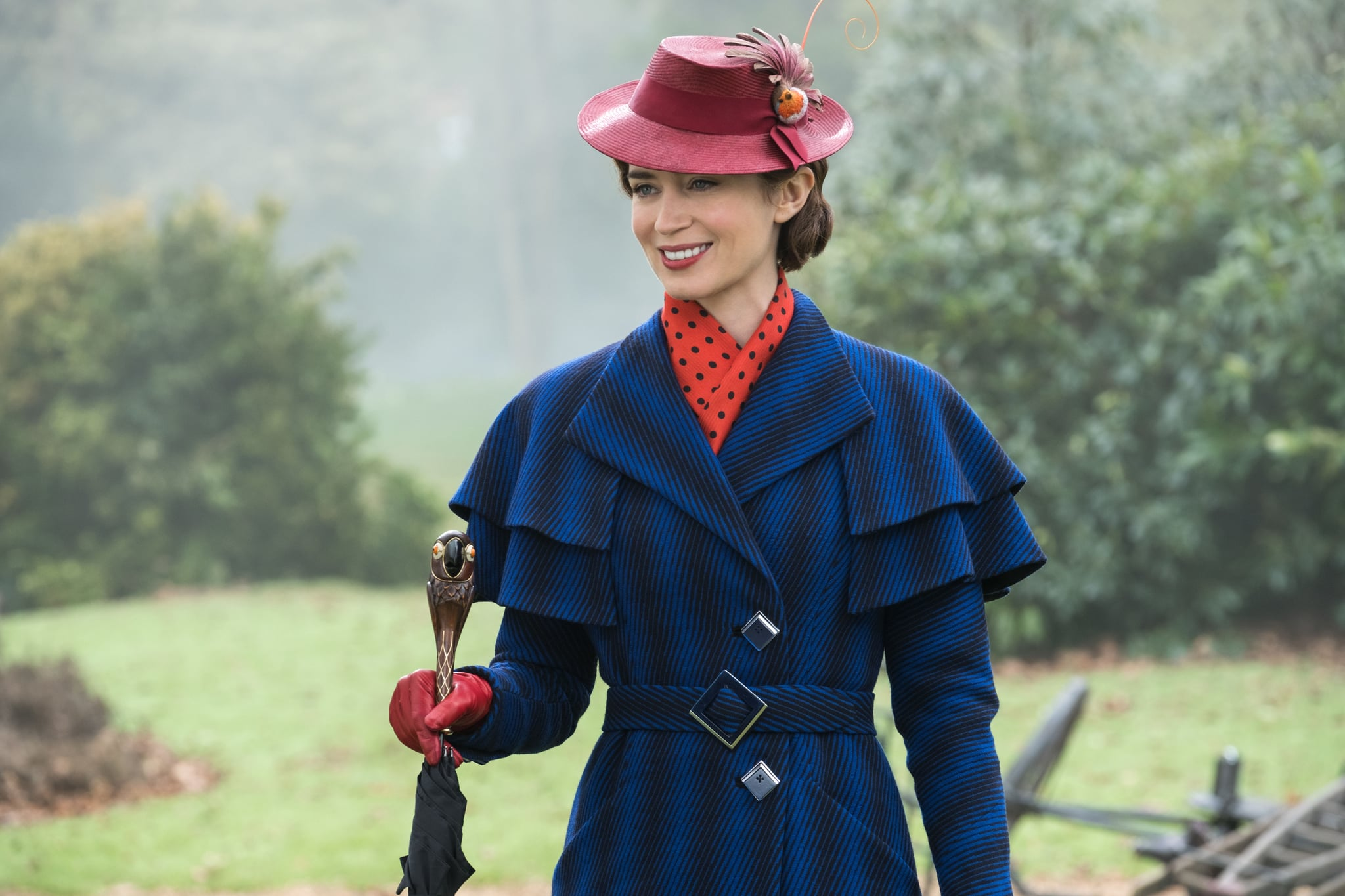 Emily Blunt is Mary Poppins in Disney's MARY POPPINS RETURNS, a sequel to the 1964 MARY POPPINS, which takes audiences on an entirely new adventures with the practically perfect nanny and the Banks family.