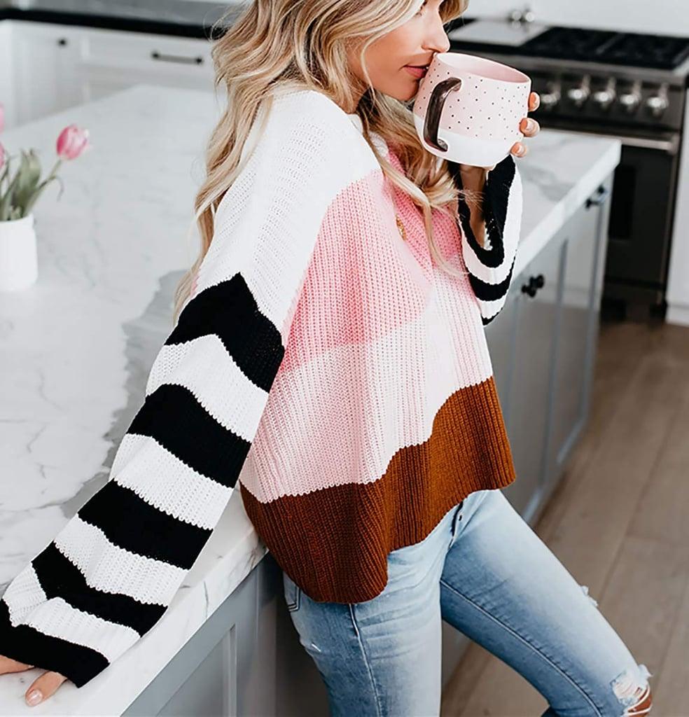 Cordat Casual Crewneck Oversize Sweater