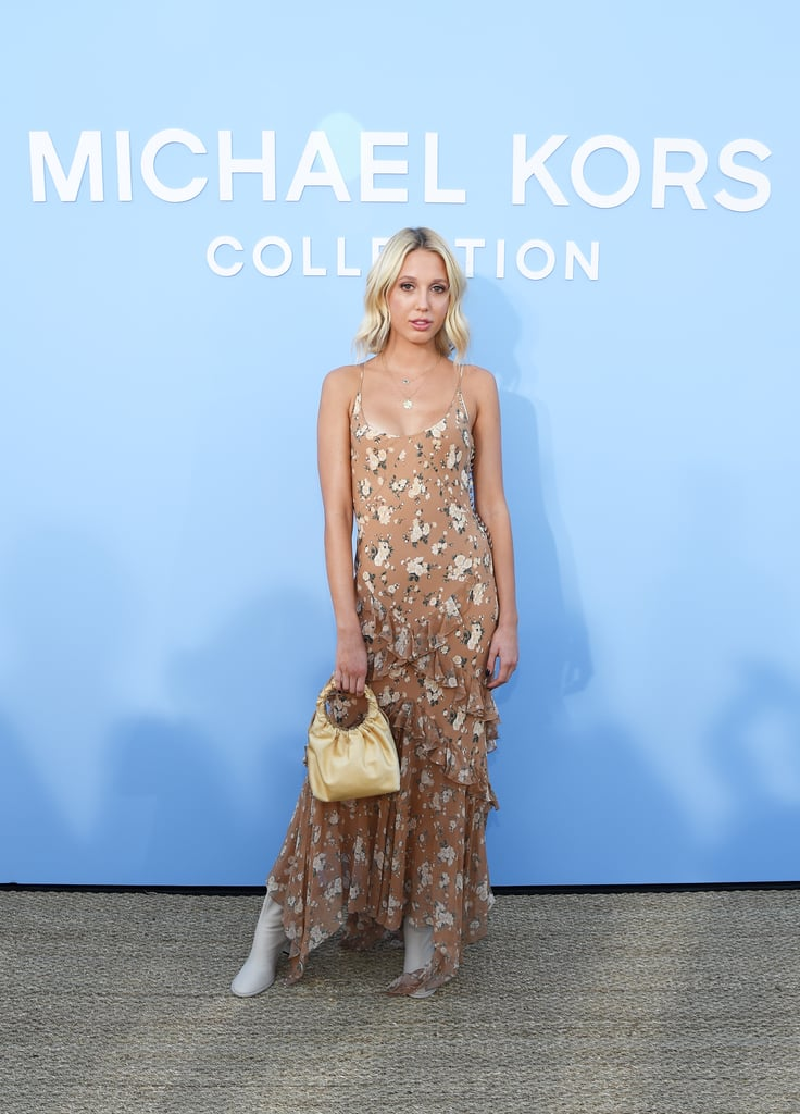 Princess Maria-Olympia of Greece at the Michael Kors Collection New York Fashion Week Show