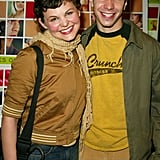 Ginnifer used to wear track jackets and big smiles in 2002.