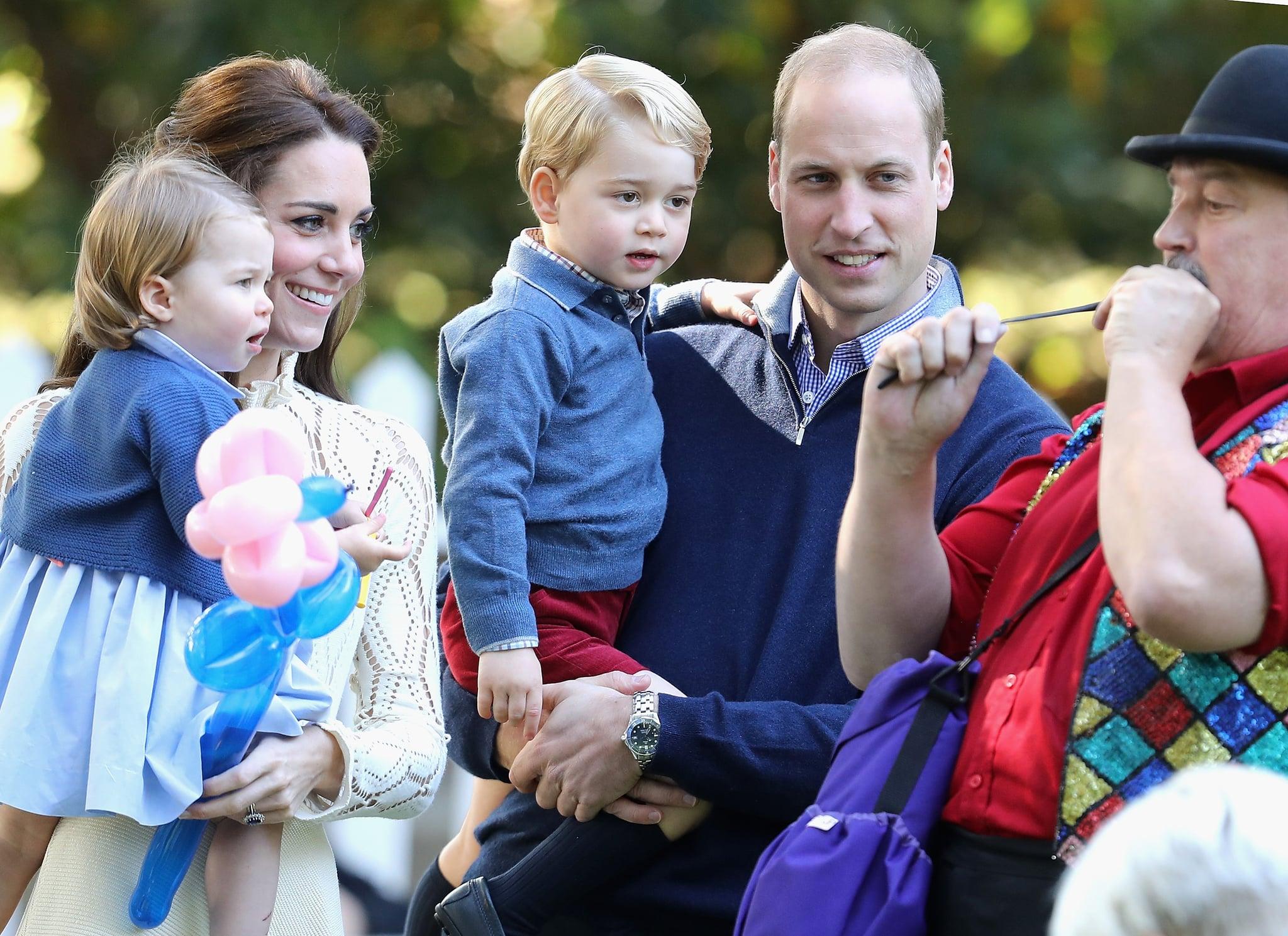Prince William and Kate Middleton Christmas Card 2016 | POPSUGAR ...