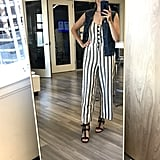 Outfit 2: Striped jumpsuit