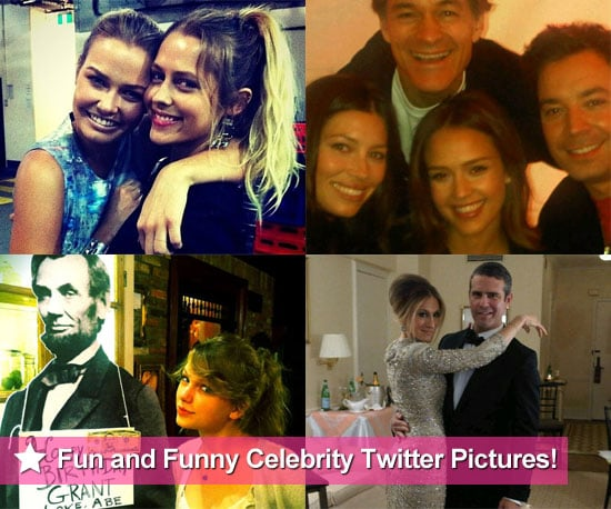 Fun and Funny Celebrity Twitter Pictures 2011-05-05 22:33:25