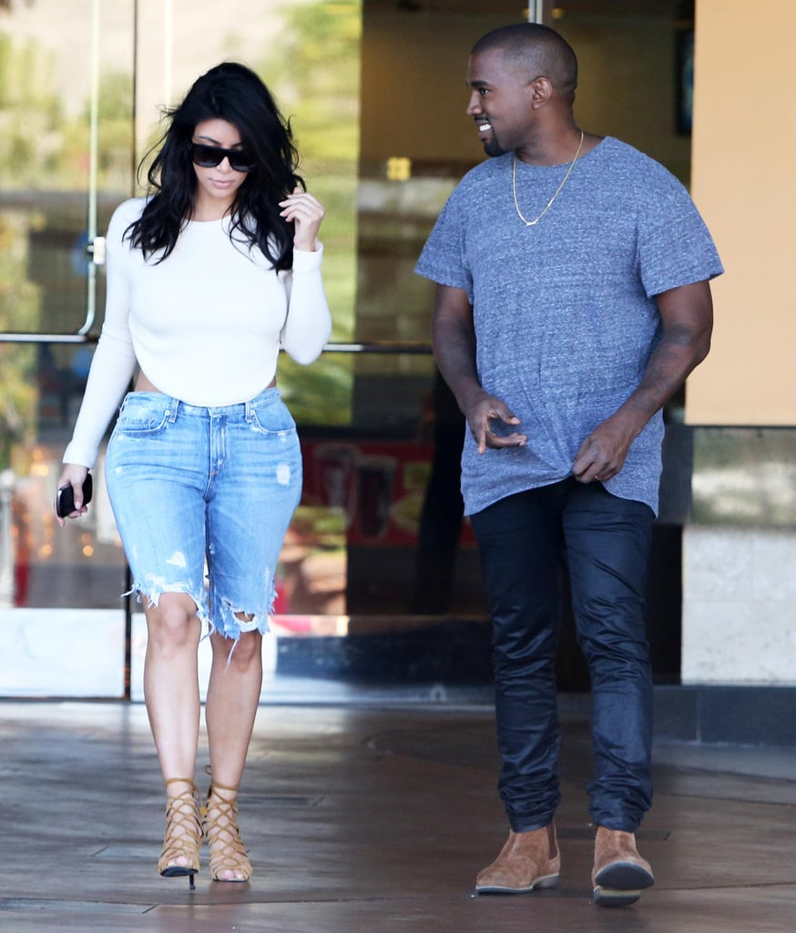 """Kim Kardashian was spotted showing serious skin in a backless white top when she caught a movie in Calabasas, CA, alongside Kanye West on Sunday. The couple were keeping things low-key over the weekend, running errands and visiting a pumpkin patch with their daughter, North West, and Kim's sister Kourtney Kardashian and her two children. While it may have looked like Kim was relaxing over the weekend, she showed a different side on Instagram when she shared antibullying messages with her followers on Sunday. """"You think you know but sometimes you just don't,"""" Kim wrote, alongside an antibullying meme that has been circling around Instagram and other social media sites. Kim also added, """"#IHateBullying and #MeanCommentsIsBullyingToo."""""""