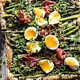 Asparagus, Egg, and Prosciutto Tart