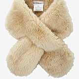 This BCBGeneration Faux Fur Scarf ($34) comes at an unbeatable price.