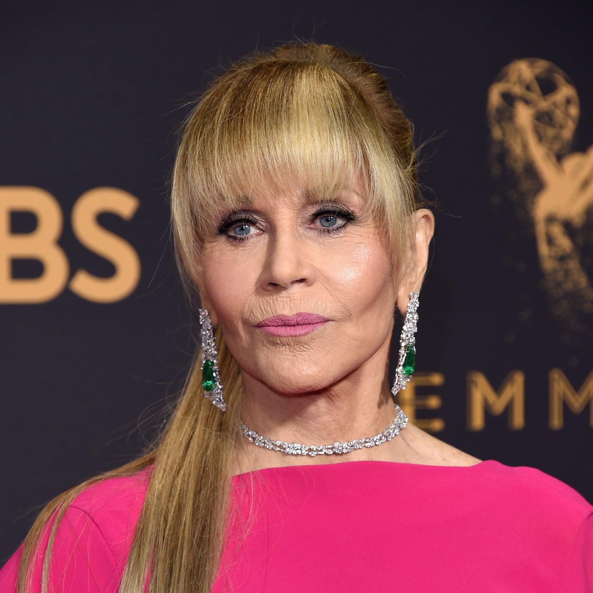 Jane Fonda\u0027s Hair at the 2017 Emmy Awards | POPSUGAR Beauty