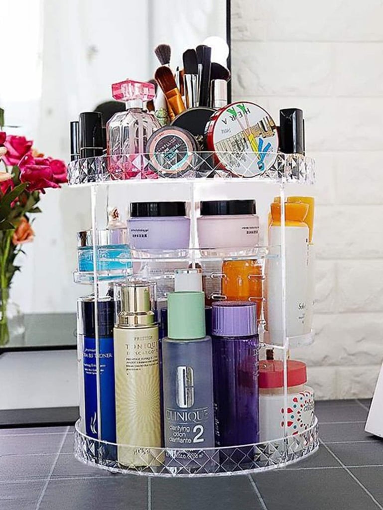 Rotatable Multi-Layer Cosmetic Storage Rack