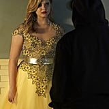 """Ali (Sasha Pieterse) is confronted by """"A."""""""