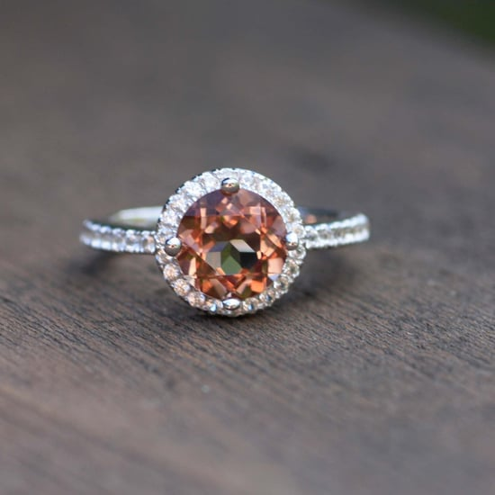 A Zultanite Engagement Ring Changes Colours Before Your Eyes