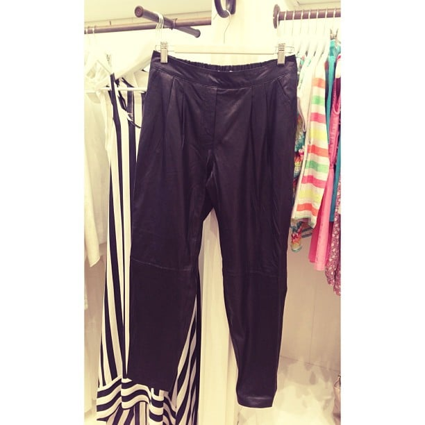 These leather pants were just one item we were mad over in Seed's latest collection. They're in store from October.