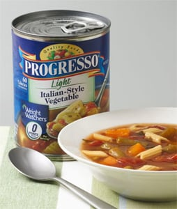 New: Progresso Light Soups with Zero Points
