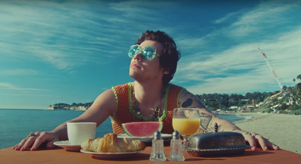"See Harry Styles's Outfits in the ""Watermelon Sugar"" Video"
