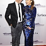 Jennifer Lopez shared the red carpet with Kenneth Cole.