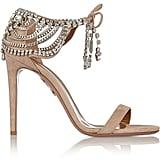 Olivia Palermo x Aquazzura Embellished Sandals