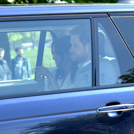 Prince Harry and Meghan Markle Wedding Rehearsal